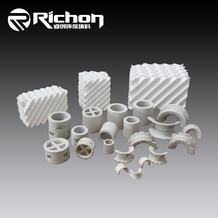 Ceramic Random Packing